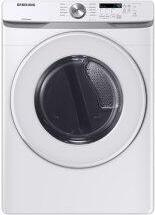 7.5 cu. ft. Gas Dryer with Sensor Dry in White