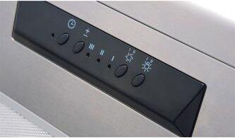 """36"""" Breeze II Undercabinet Hood with 400 CFM Blower, LED"""