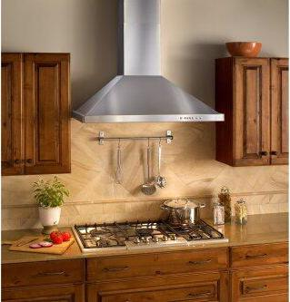 30-inch Wall Mount Chimney Hood, 400 Max Blower CFM, Brushed Stainless Steel (WTT32 Series)