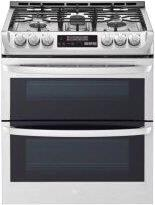 6.9 cu. ft. Smart wi-fi Enabled Gas Double Oven Slide-In Range with ProBake Convection™ and EasyClean™