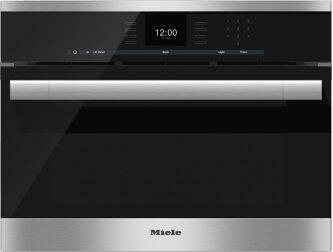 """24"""" DGC 6500 XL ContourLine SensorTronic Combi-Steam Oven  Purchase any DGC XL or DGC XXL Combi-Steam Oven and Receive the Following Accessory Set (over $500 retail value): • Induction-Ready Casserole Dish (HUB 5001-M) • Perforated Baking Tray (HBBL 71) • FlexiClips (HFC 71)"""