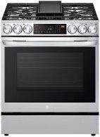 6.3 cu ft. Smart wi-fi Enabled ProBake Convection™ InstaView™ Gas Slide-In Range with Air Fry