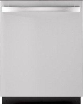 GE™ ADA Compliant Stainless Steel Interior Dishwasher with Sanitize Cycle
