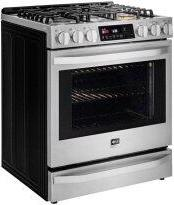 LG STUDIO 6.3 cu. ft. Smart wi-fi Enabled Gas Slide-in Range with ProBake Convection™