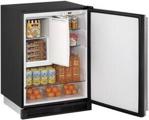 "24"" Refrigerator/freezer Integrated Solid Field Reversible"