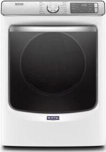 Maytag(R) Front Load Gas Dryer with Extra Power and Advanced Moisture Sensing with industry-exclusive extra moisture sensor - 7.3 cu. ft. - Chrome Shadow