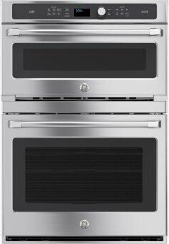 GE Cafe(TM) Series 30 in. Combination Double Wall Oven with Convection and Advantium(R) Technology
