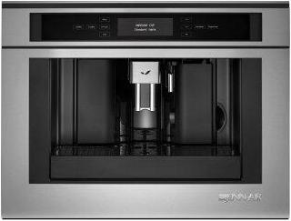 """Euro-Style 24"""" Built-In Coffee System Stainless Steel"""