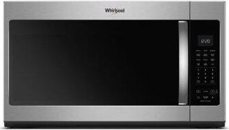 Whirlpool(R) 1.9 cu. ft. Capacity Steam Microwave with Sensor Cooking - Fingerprint Resistant Stainless Steel