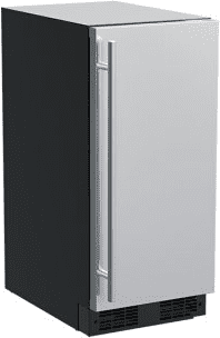 15-In Built-In Crescent Ice Machine with Door Style - Stainless Steel