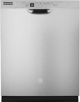 GE™ Front Control with Plastic Interior Dishwasher with Sanitize Cycle & Dry Boost