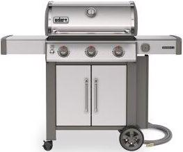 Genesis II S-315 Gas Grill - Stainless Steel Natural Gas